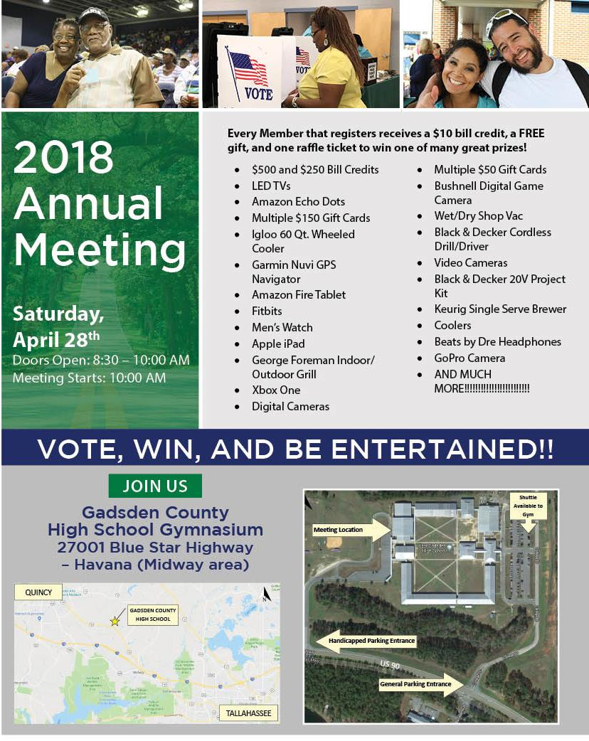 2018 Talquin Electric Cooperative Annual Meeting