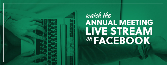 Facebook Annual Meeting Livestream Banner