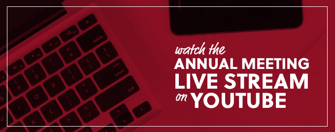 YouTube Annual Meeting Livestream Banner